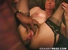 Ambyr granny simps interracial anal