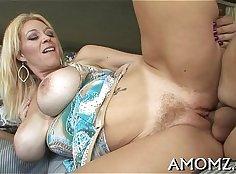 Mom loses her orgasm