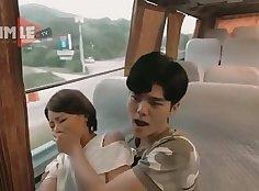 Attractive majestic bus futan