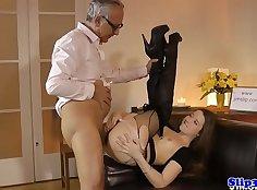 Euro babe Anastasia enjoys cock riding and anal rides