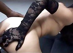 Asian Petite Ebony Cumsluts Fucked like a Pornstar