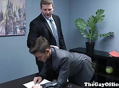 My boss Is So Gay he soon had the relief of watching me.