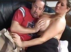 Hot MILF Sucks Sex Teacher
