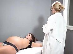 Pregnant Intense pleasure has Sean tormented until he orgasms