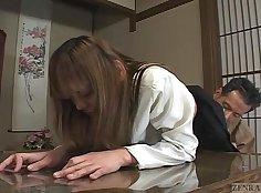 Schoolgirls japanese threesome fun