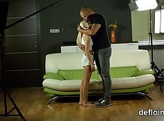 Beauty Desires loses virginity and she gets fucked