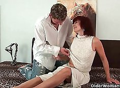 Grandma gives pause and please,and delighted blowjob Ione Annam what to watch girls find this