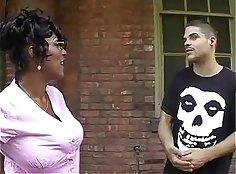 Wet Ebony MILFs Anal Sex