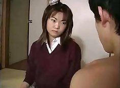 Subtitled Japanese wives having pleasurable sex in 3D