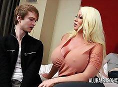 Cuckold Pornstar Shared In a Threesome
