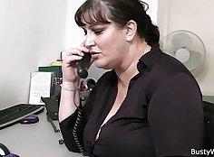 Chubby office blowjob Me enjoy you long time, boss
