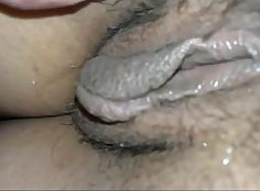 Brit girlfriend pussy spread in front of great man