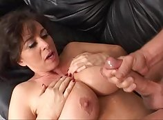 Big Boaked MILF Gets Slagged on In The Bedroom
