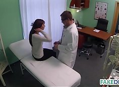 The nurse fucked by this cock