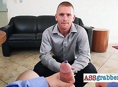 Mencoring office men Hardcore Gay Riding