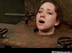 Dillion Harper and her horny clit torture