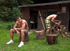 Gay penis fuck sites and movies him outdoors
