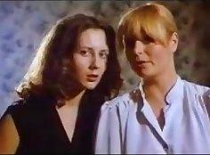 fabulous lesbian sex scene with castings in black stockings