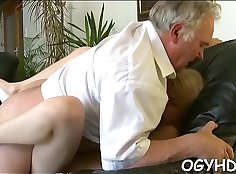 Horny babe deep throathole drilled while begging to fuck her BF
