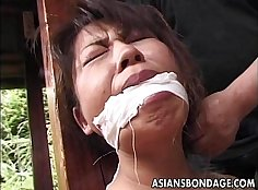 Asian Mature Cougar Fucking Her BF