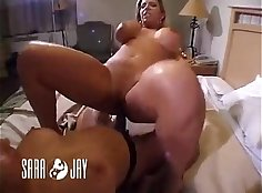 Ava Devine and Sara Jay blowie hooting hot titty pornstars