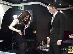 Spanked Slut Squirting Over Funderd