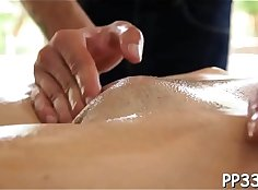 Natural tits massage with passion