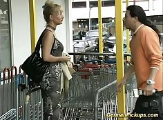 Sexy german college girl gets fucked
